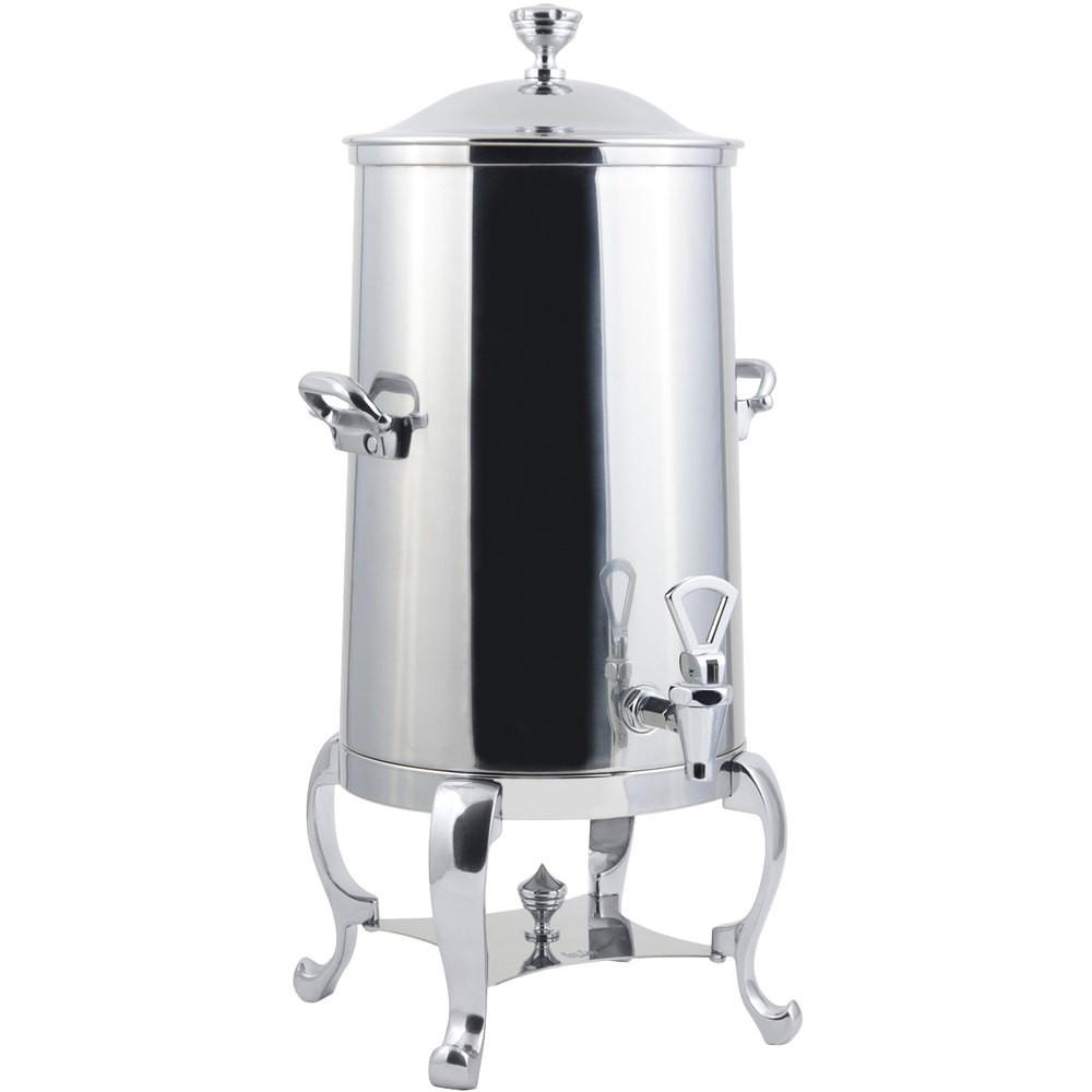 Bon Chef 49005-1C-E Roman Electric Coffee Urn with Chrome Trim, 5 Gallon