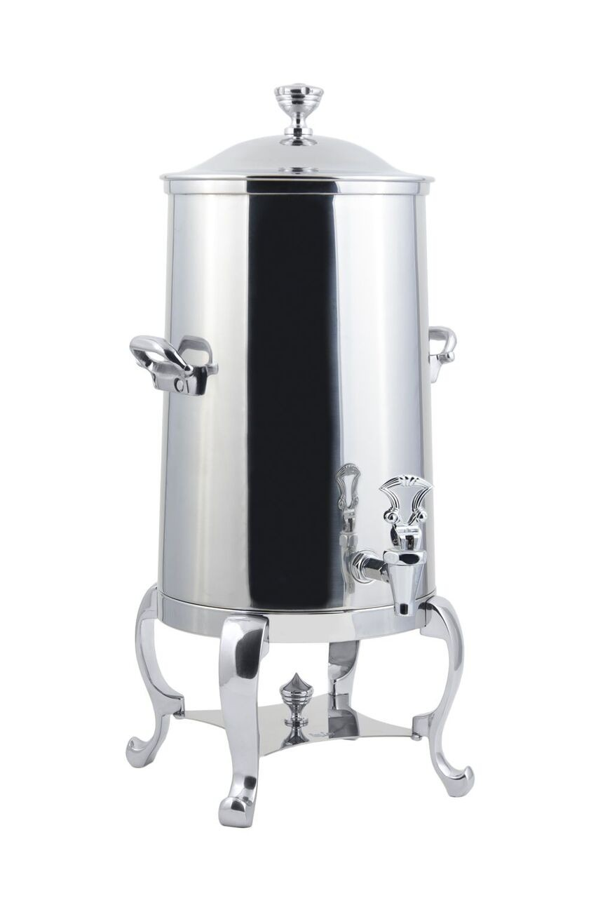 Bon Chef 49005-1C Roman Insulated Coffee Urn with Chrome Trim, 5 Gallon