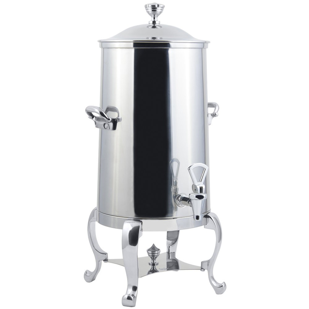 Bon Chef 49005C-E Roman Electric Coffee Urn with Chrome Trim, 5 Gallon