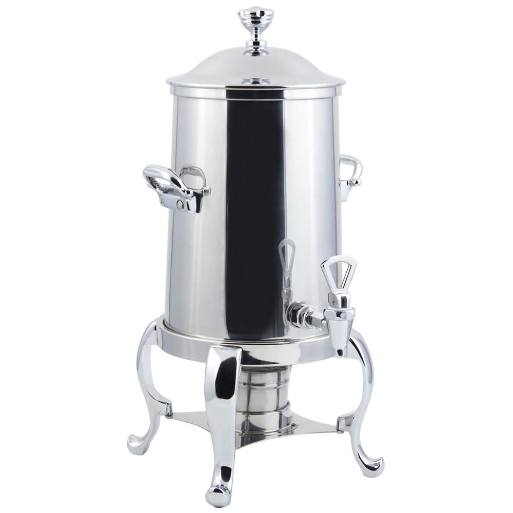 Bon Chef 49101-1C Roman Non-Insulated Coffee Urn with Chrome Trim, 2 Gallon