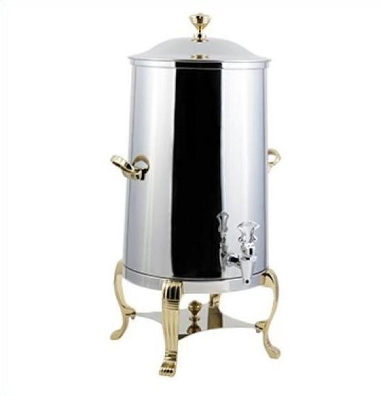 Bon Chef 49105-1 Roman Non-Insulated Coffee Urn with Contemporary Handle, 5 1/2 Gallon