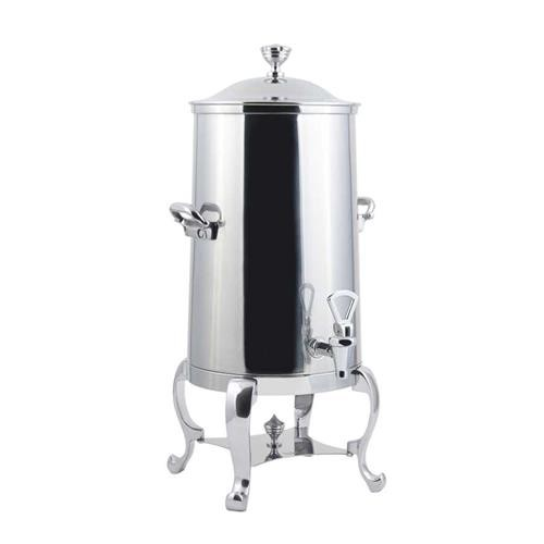 Bon Chef 49105-1C Roman Non-Insulated Coffee Urn with Chrome Trim, 5 1/2 Gallon