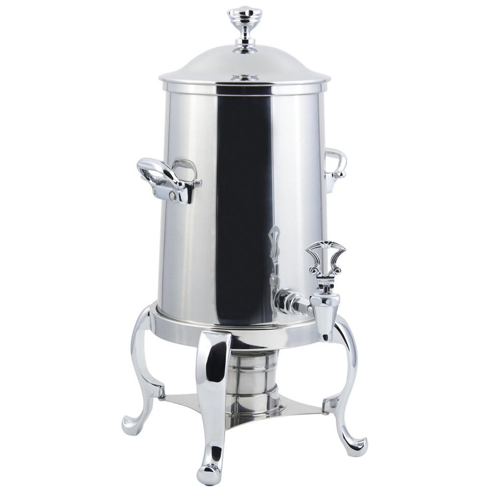 Bon Chef 49115 Roman Sleek Line Non-Insulated Coffee Urn, 5 1/2 Gallon