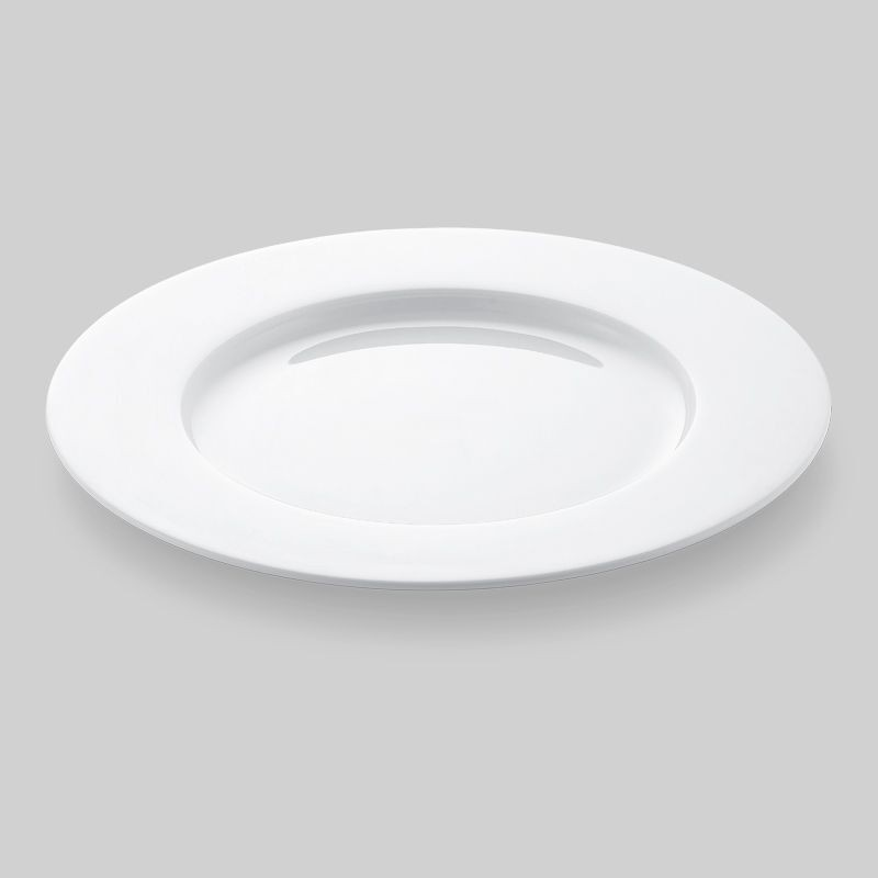 Bon Chef 5000010b Wide Rim Bone China Dinner Plate 11 Dia Set Of 16 Lionsdeal