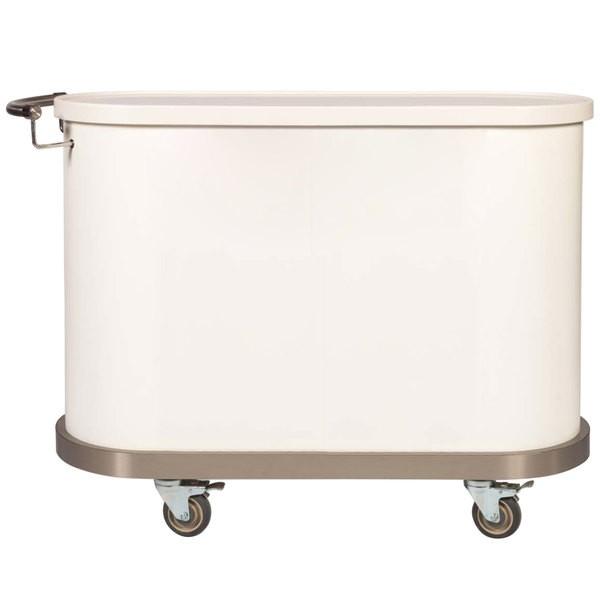 """Bon Chef 50031 Stylized Mobile Cart, 45"""" x 18"""" x 34"""""""