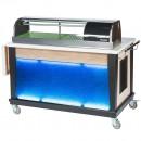 "Bon Chef 50045 Sushi Cart, 54 1/2"" x 30"" x 45"""