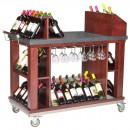 "Bon Chef 50048 Wine and Cordial Cart, 48"" x 24"" x 45 1/2"""