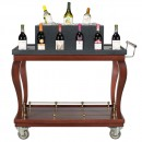 "Bon Chef 50049 Wine Cart, 44"" x 23 1/2"" x 40 1/2"""