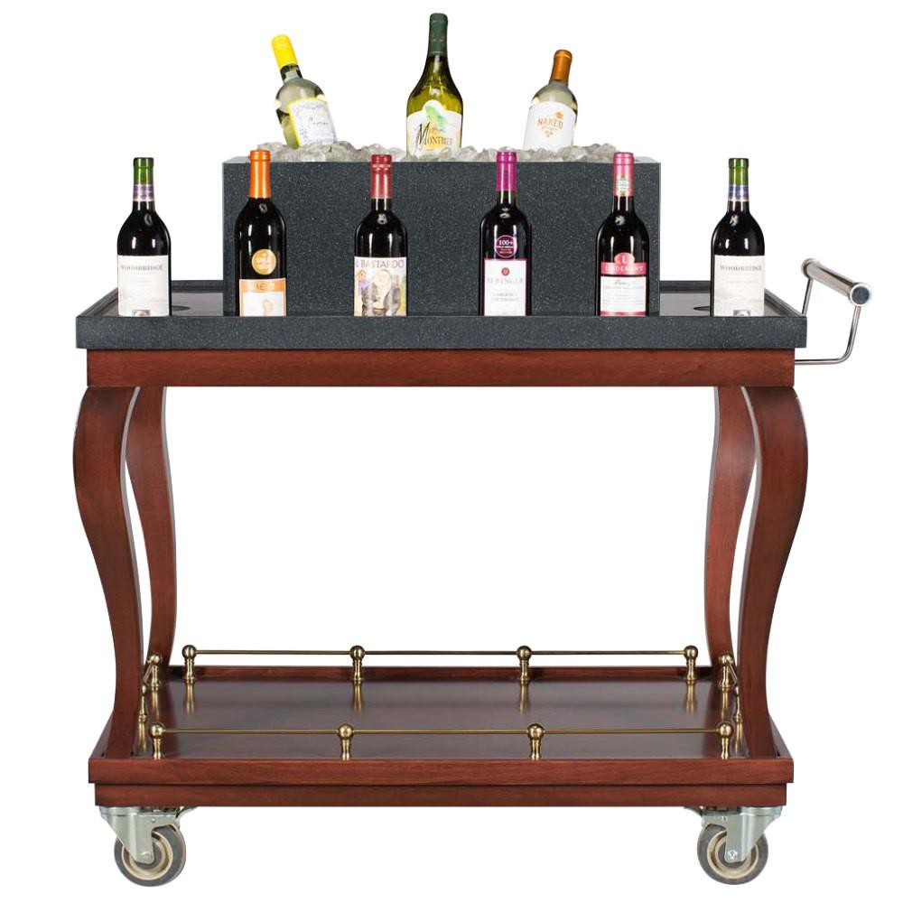 "Bon Chef 50049 Wine Cart, 44"" x 23 1/2"" x 40 1/2"""