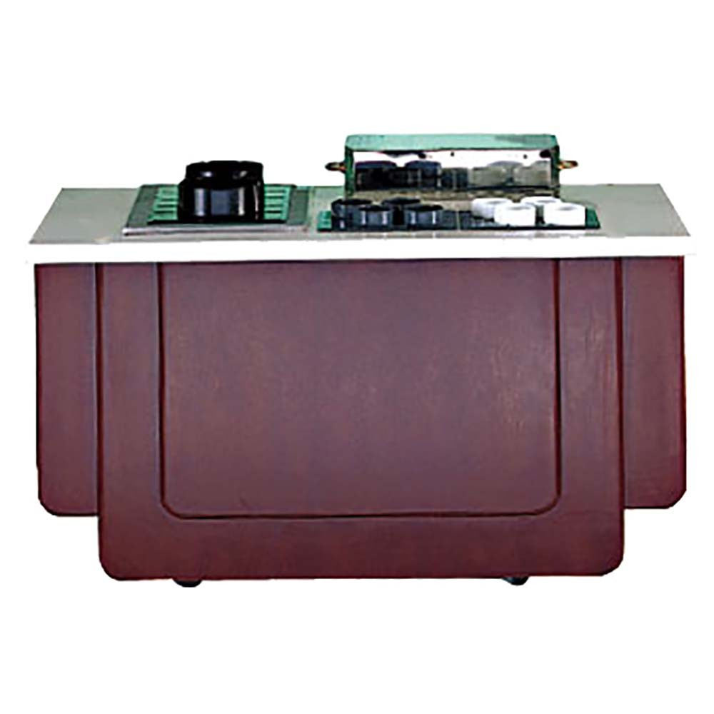 Bon Chef 50090NS Classic Buffet Station with Custom Stain 6' L