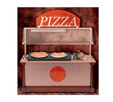 """Bon Chef 50111 Pizza Station with Sneeze Guard, 75"""" x 33"""" x 84"""""""