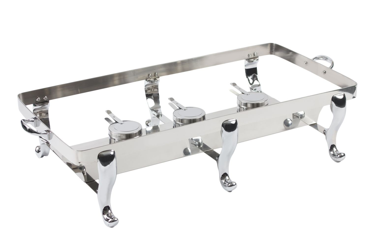 Bon Chef 50128ST-1 Double Display Stand Only with Solid Fuel Holder