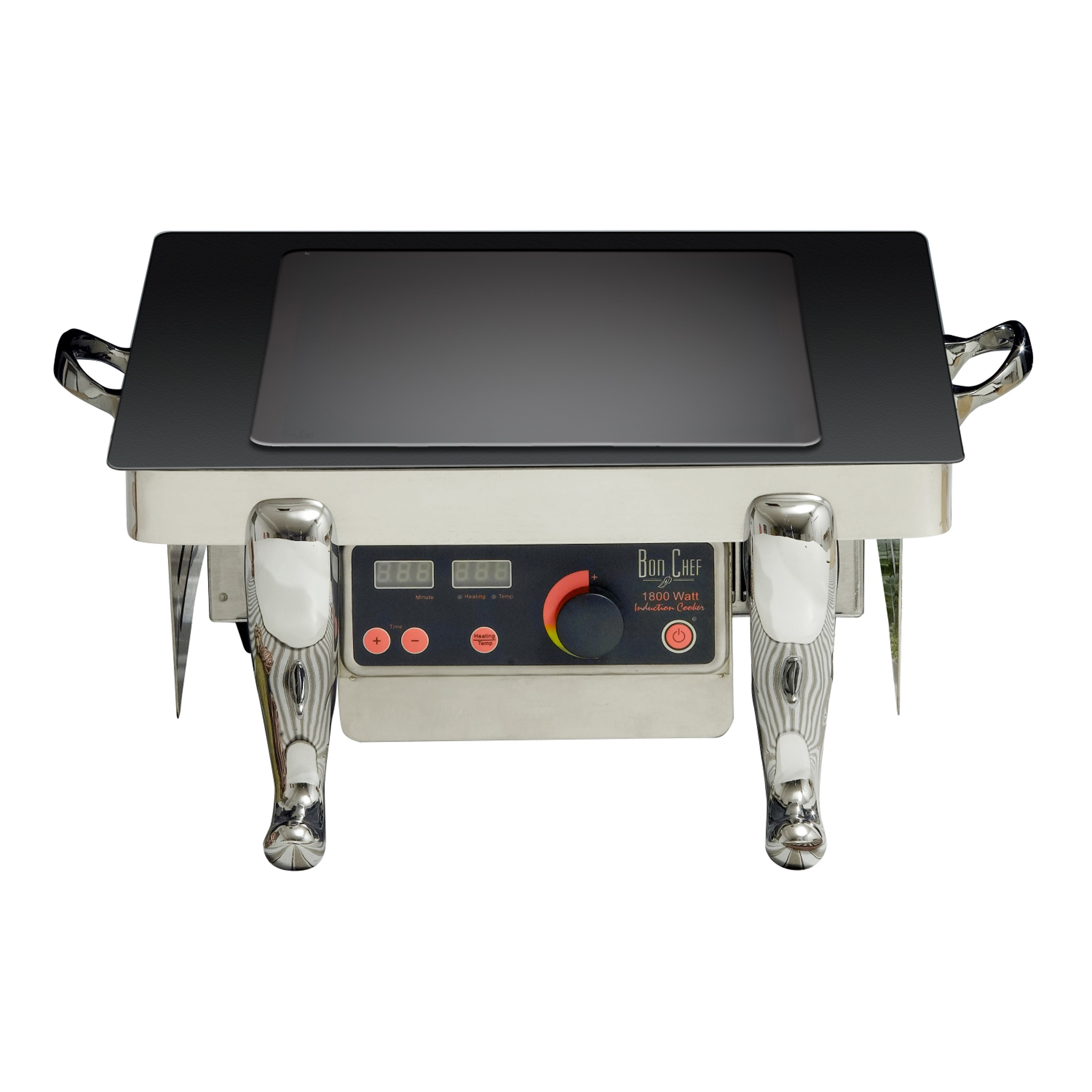 """Bon Chef 50141-1 Portable Cooking Display Stand with Induction Stove, 22"""" x 17"""" x 8 1/2"""""""