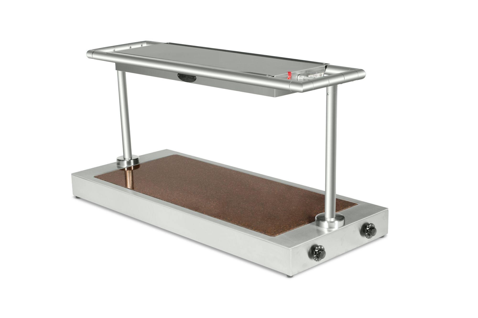 "Bon Chef 50145 Granite Top Heat Unit with Overhead Heat, 21"" x 51"" x 33 1/2"""