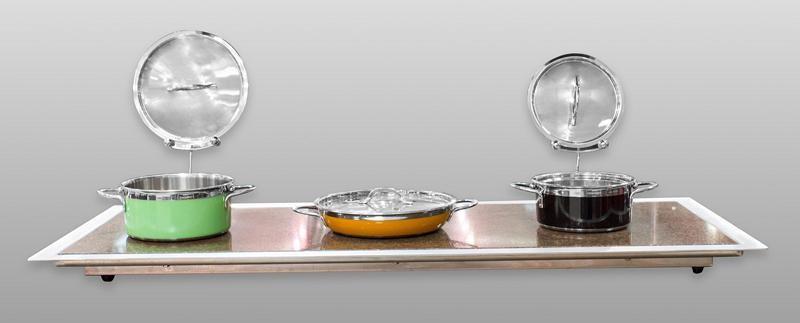 "Bon Chef 50146 Granite Top Heat Unit, 21"" x 51"" x 2 1/4"""