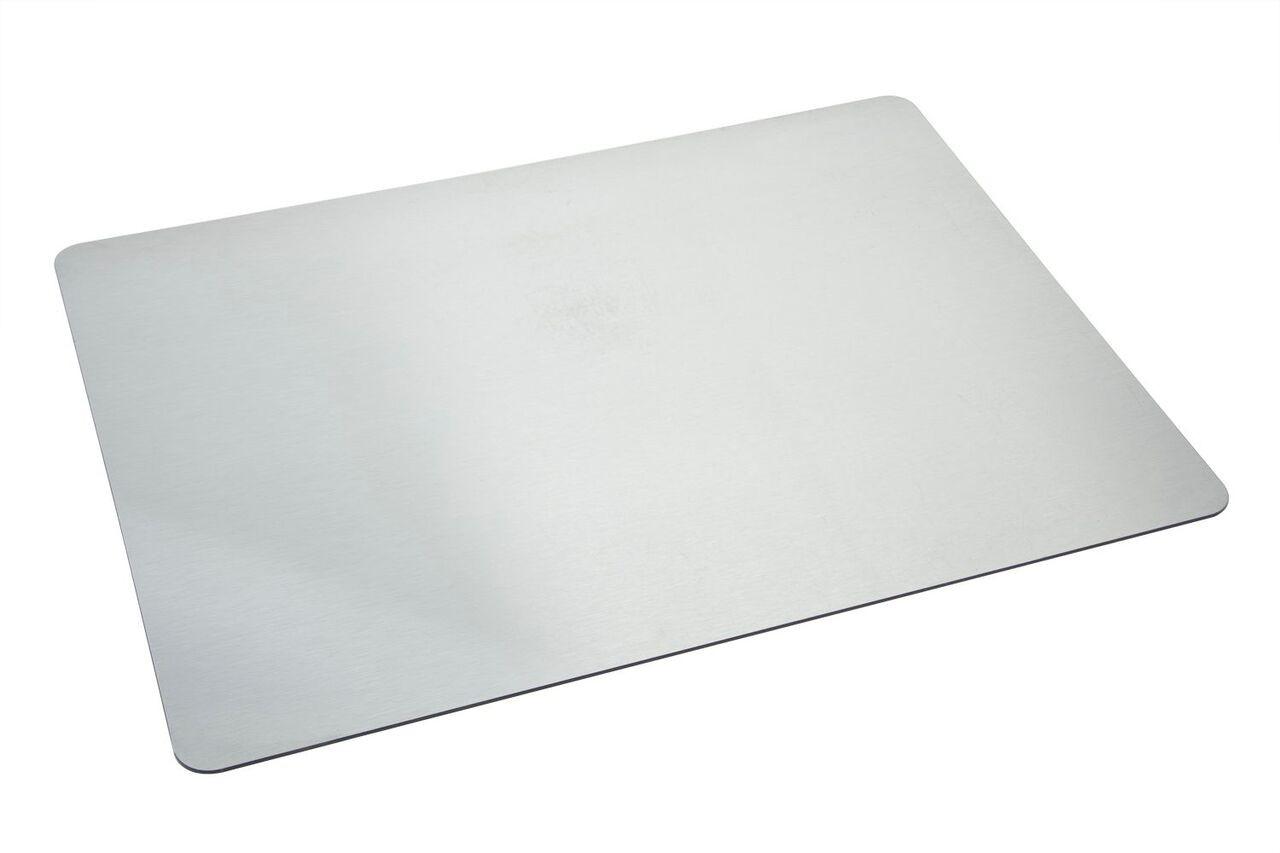 """Bon Chef 50156CD-Silver Chef's Dimensions Silver Acrylic Panel, 29"""" x 22"""""""