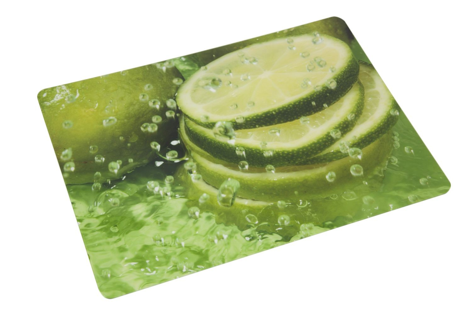 Bon Chef 50156CL-3 Acrylic City Lights Center Panel, Fresh Squeezed Lime Juice