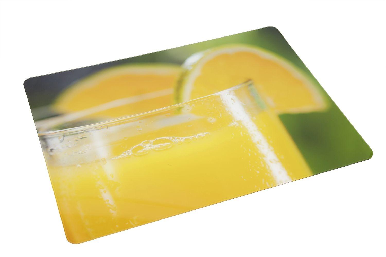 Bon Chef 50156CL-4 Acrylic City Lights Center Panel, Fresh Squeezed Orange Juice