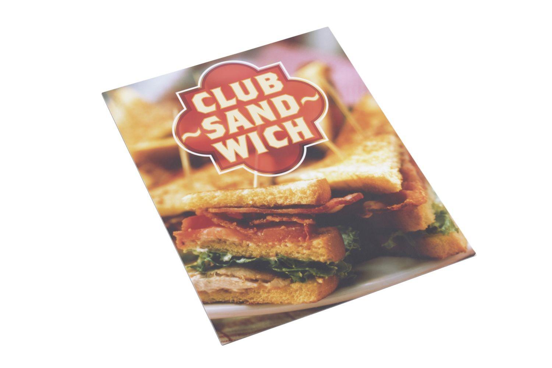 Bon Chef 50156POS16 Point of Sale Sign, Legend