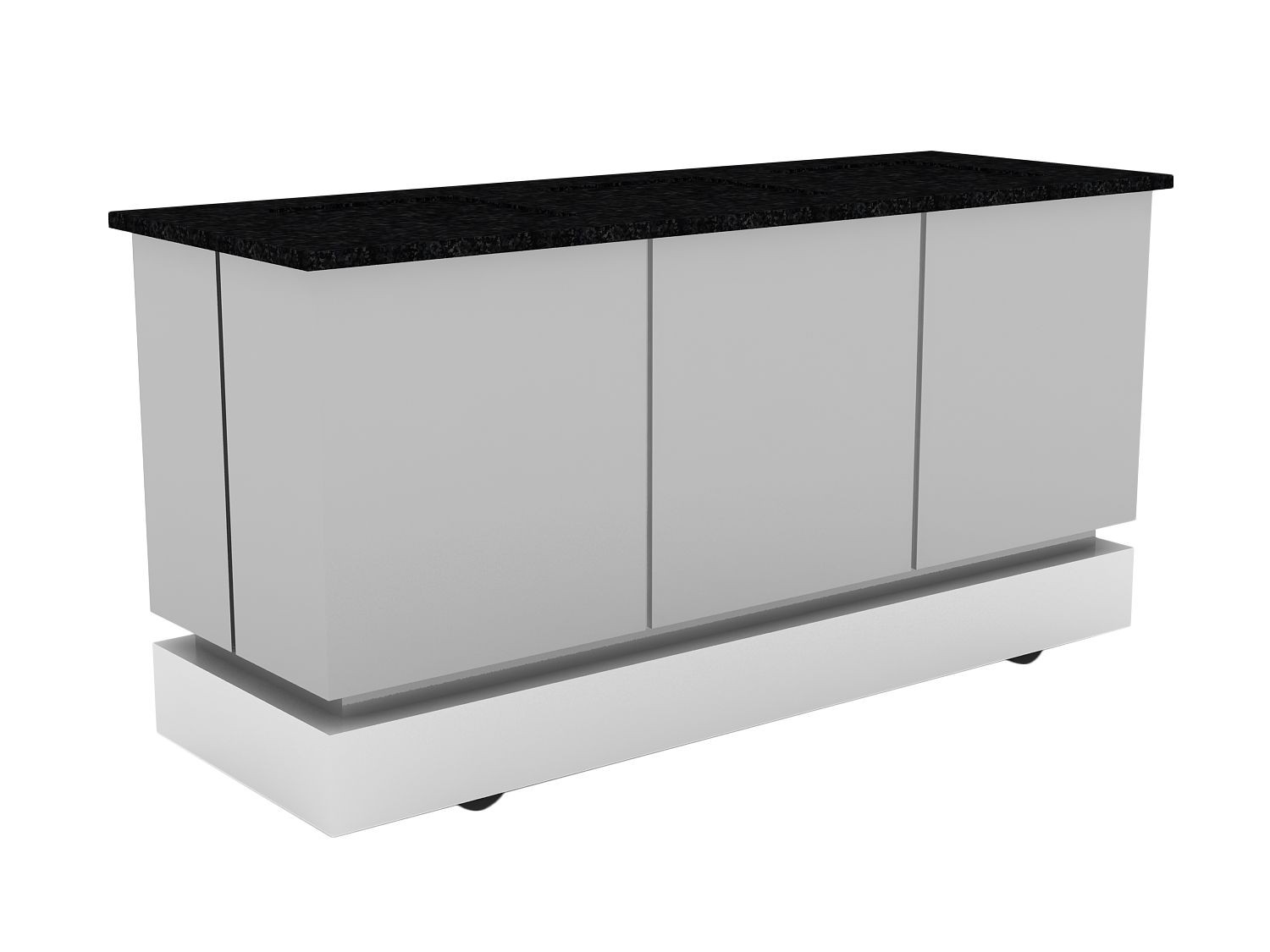 Bon Chef 50169 Contemporary Buffet with Plain Top
