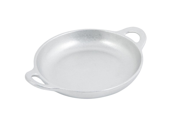 """Bon Chef 5030P Round Au Gratin Dish, Pewter Glo 6 1/2"""" Dia., Set of 6"""