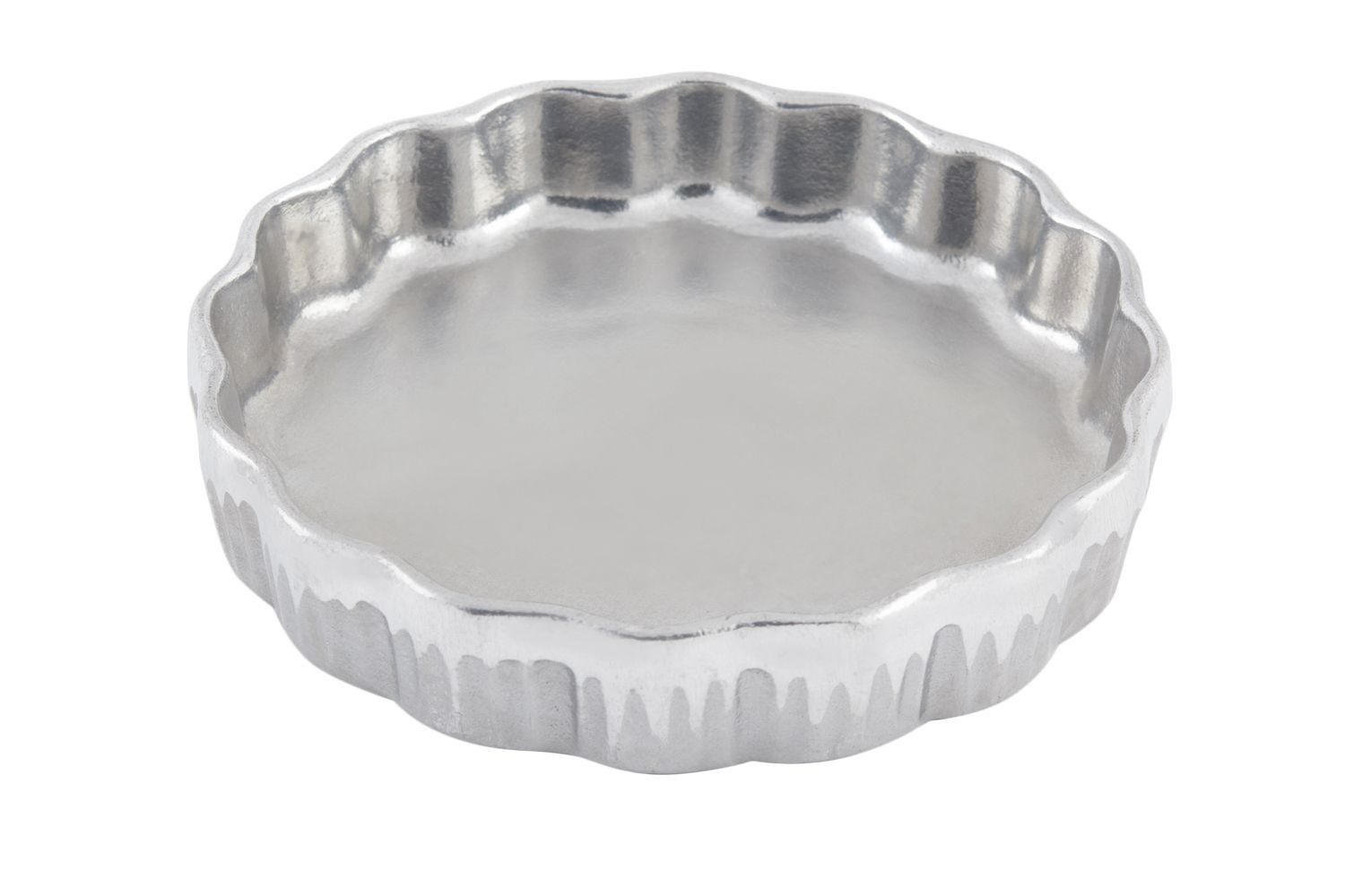 "Bon Chef 5032P Quiche Dish, Pewter Glo 5 1/2"" Dia., Set of 6"