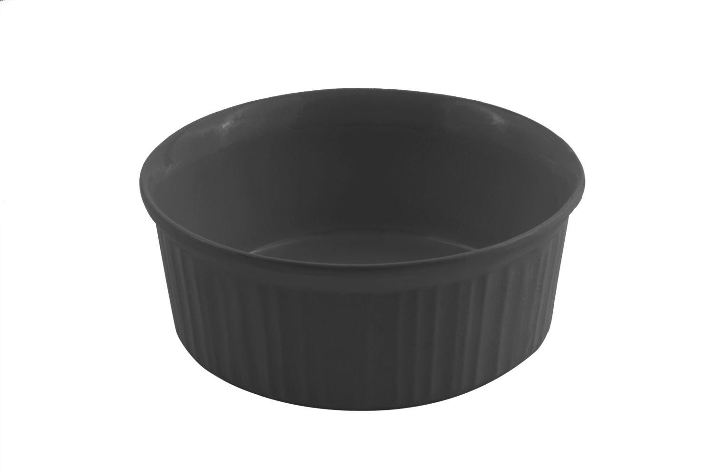Bon Chef 5054S Round Casserole Dish, Sandstone 2 1/2 Qt., Set of 3
