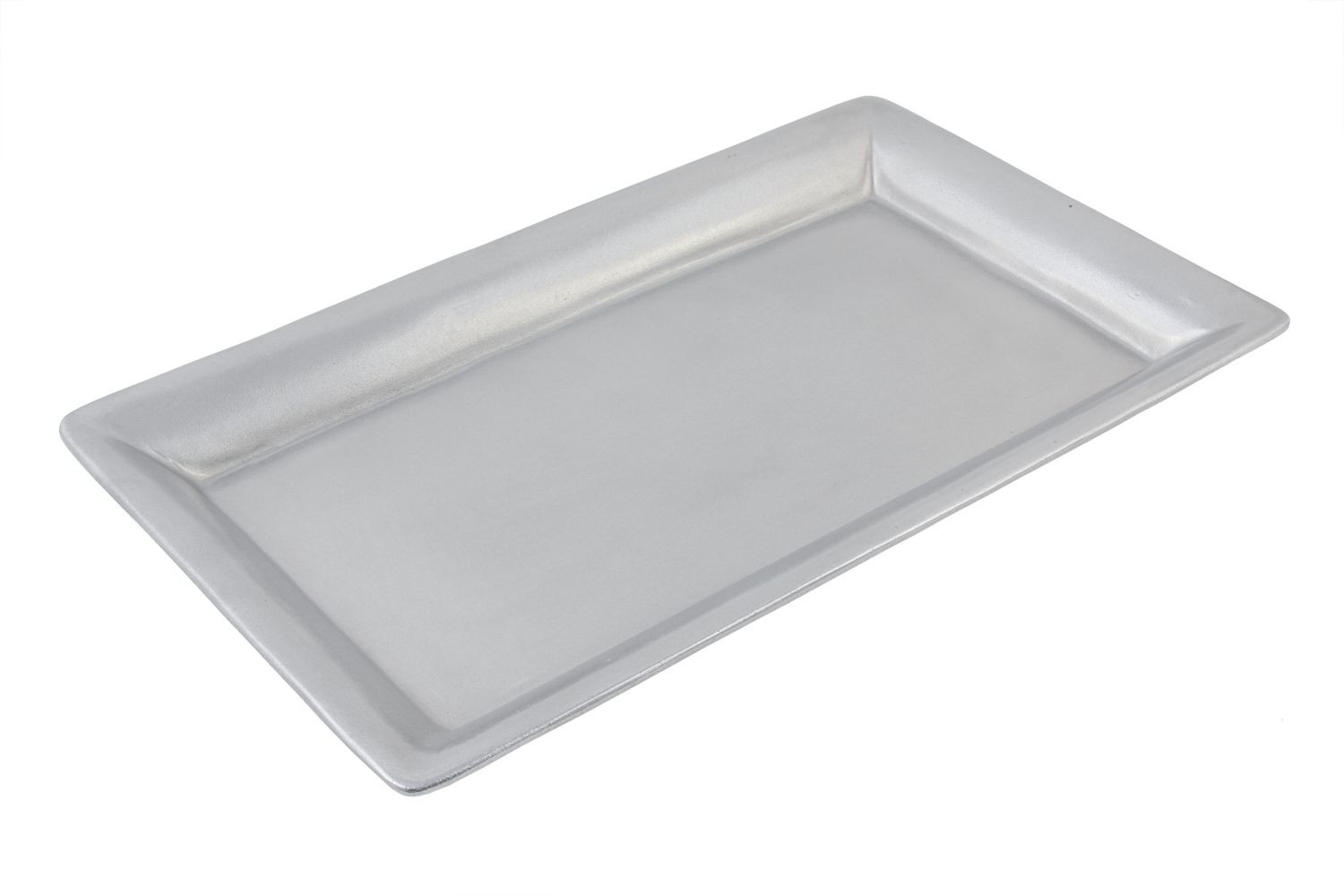 "Bon Chef 5058P Buffet Display Pan, Pewter Glo 11 7/8"" x 21 3/16"""