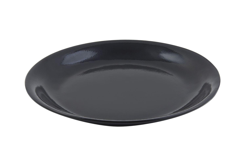 "Bon Chef 5059S Shallow Round Chafer Food Pan / Platter, Sandstone 15 1/4"" Dia."