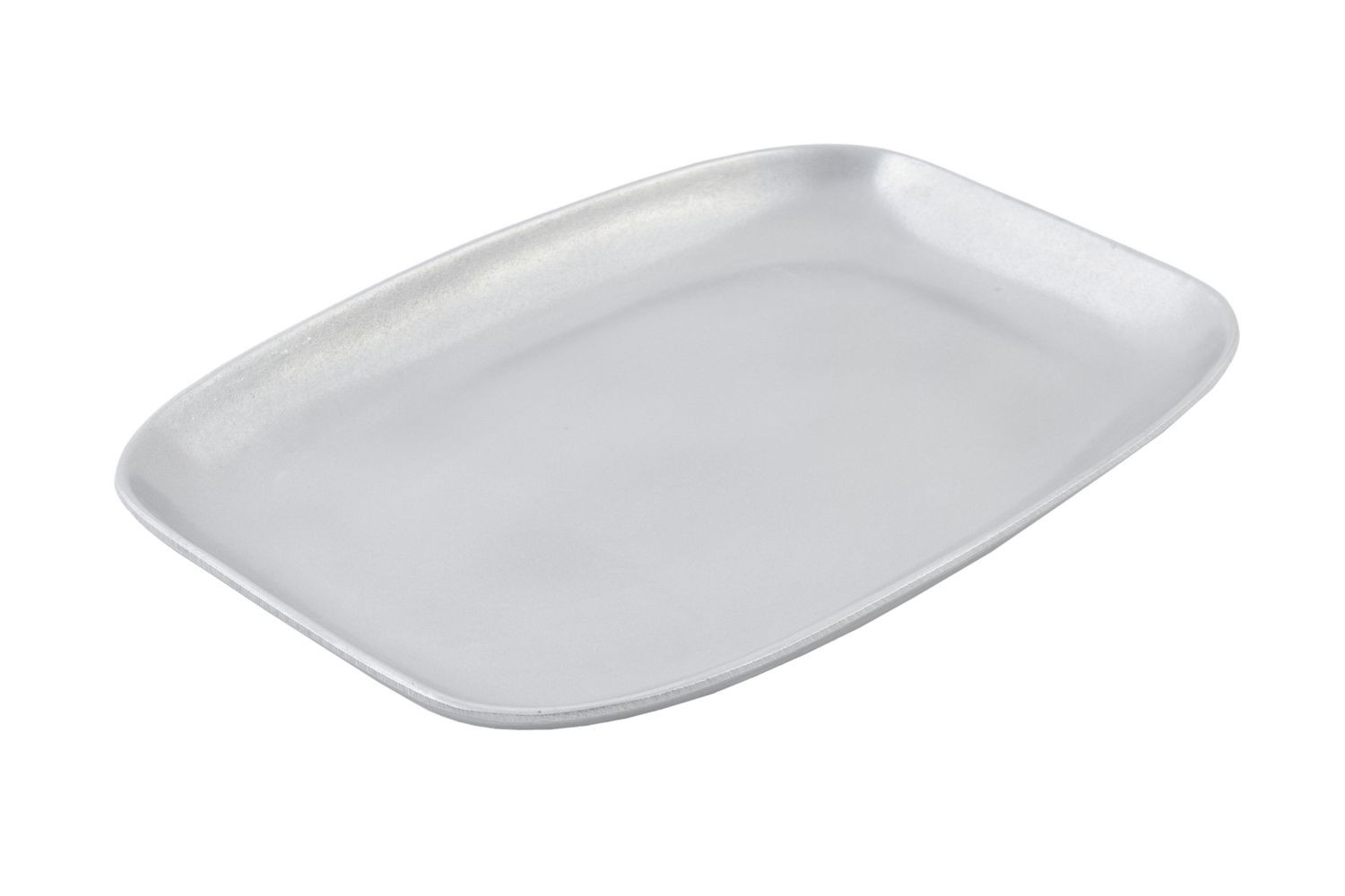 "Bon Chef 5061P Shallow Serving Casserole Dish, Pewter Glo 11"" x 16"" x 1 1/8"""