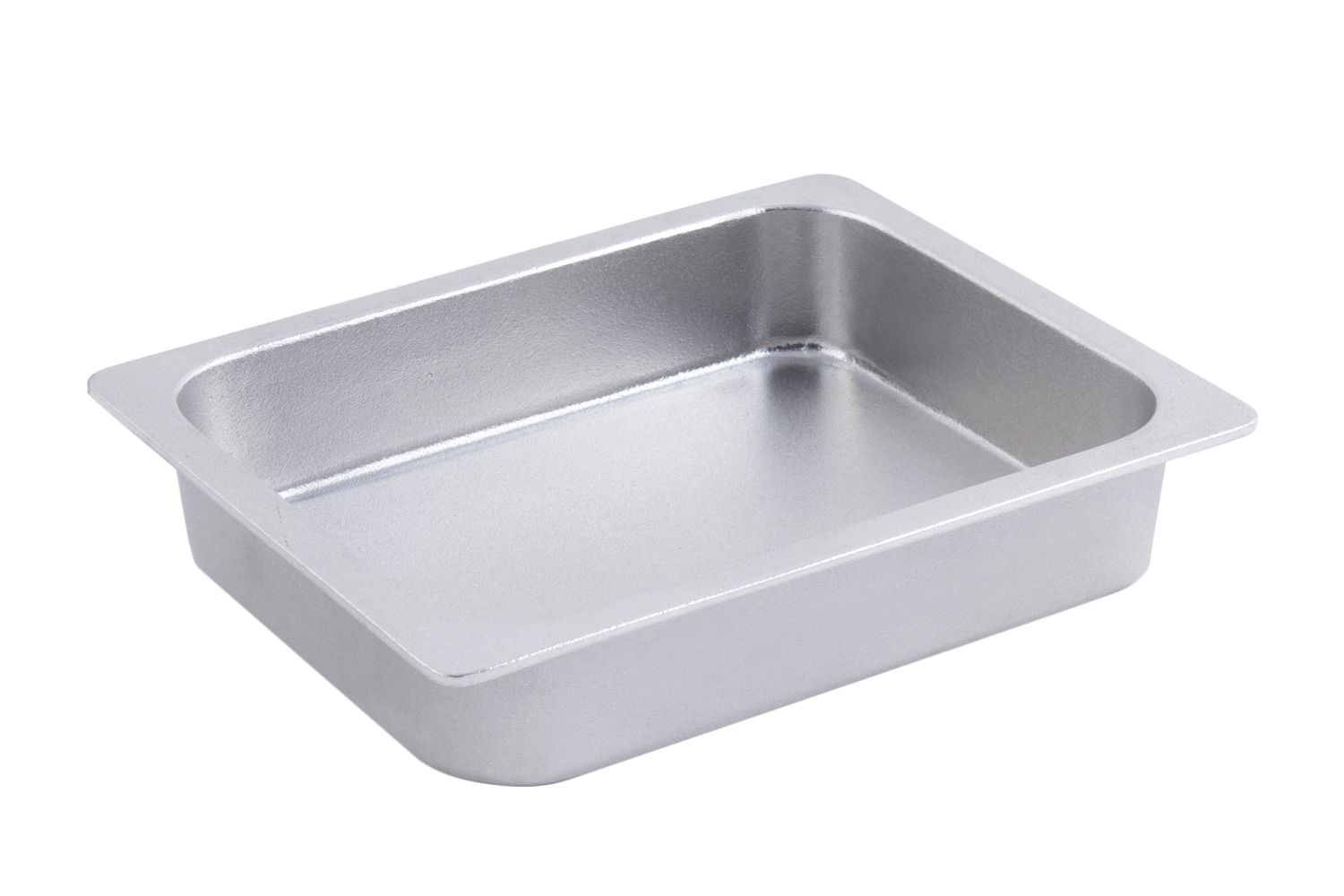 Bon Chef 5065P Half-Size Chafer Food Pan, Pewter Glo 4 Qt.