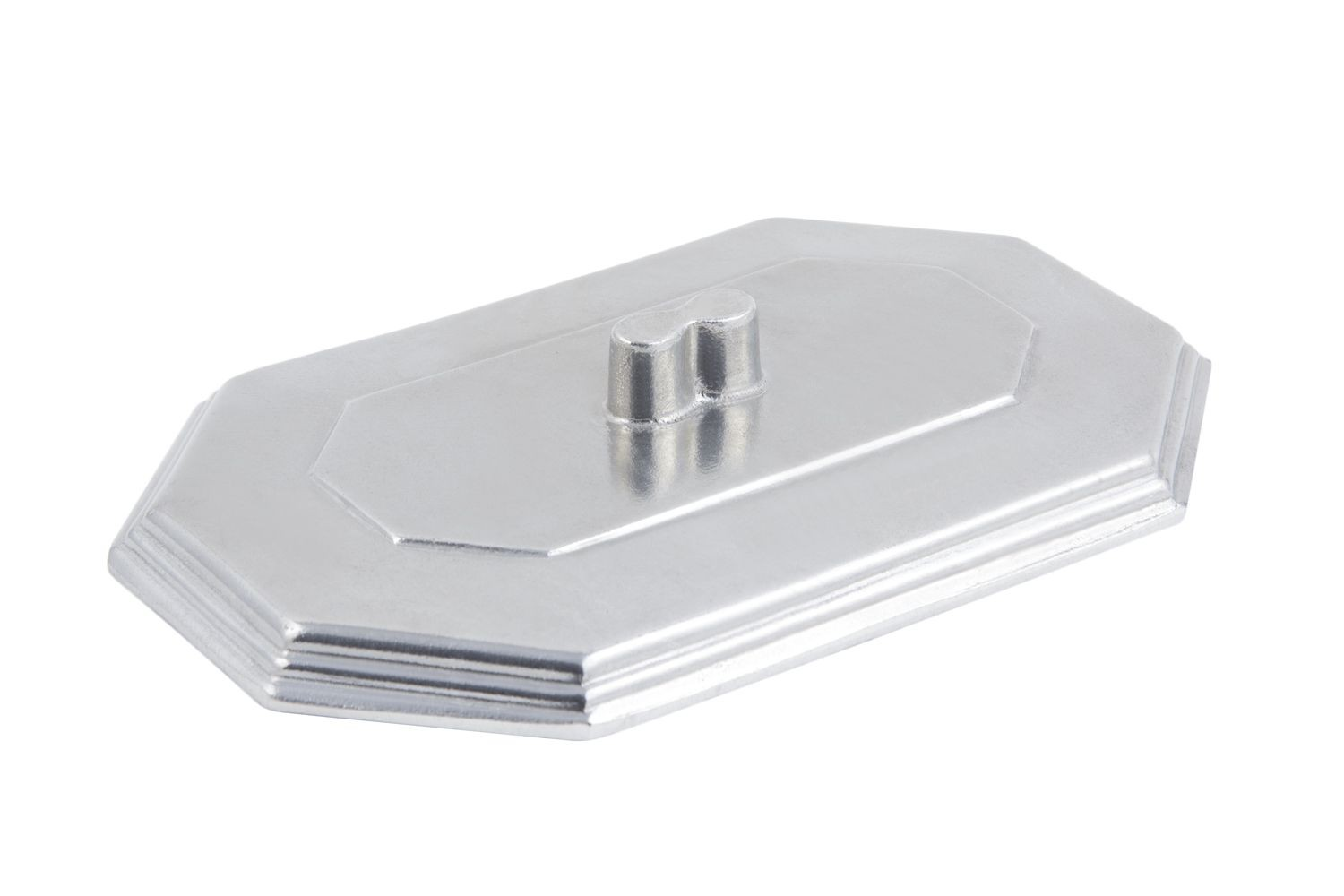 Bon Chef 5068CP Cover for 5068 Octagon Bouillabaisse Dish, Pewter Glo