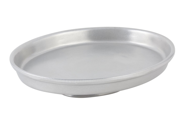 "Bon Chef 50695051P Pedestal Casserole Dish, Pewter Glo 10 5/8"" x 12 3/4"" x 2 7/8"""