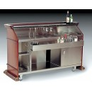 "Bon Chef 51000SKSC Portable Liquor Bar with Sink, 75 7/8"" x 28 5/8"" x 47 1/8"""