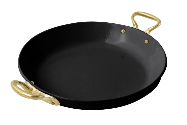 """Bon Chef 5100S Round Paella Dish, Sandstone 12"""" x 15 1/2"""""""
