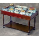 "Bon Chef 51010 Display Food Trolley, 24"" x 50"""