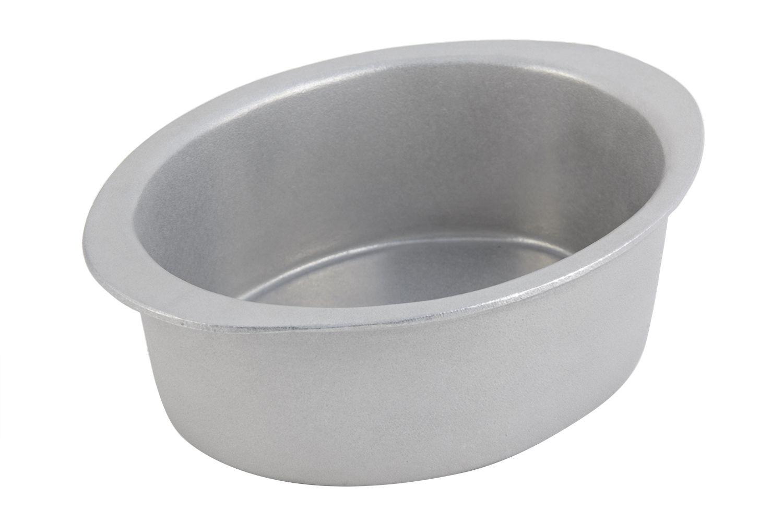 Bon Chef 5103P Oval Pan, Pewter Glo 2 3/4 Qt.