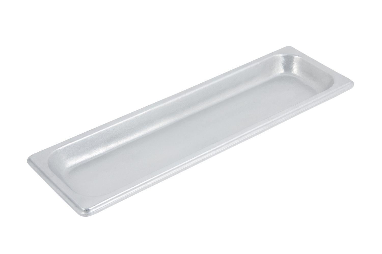 """Bon Chef 5106P Half-Size Long Pan, Pewter Glo 6 1/2"""" x 20 3/4"""" x 1/2"""""""
