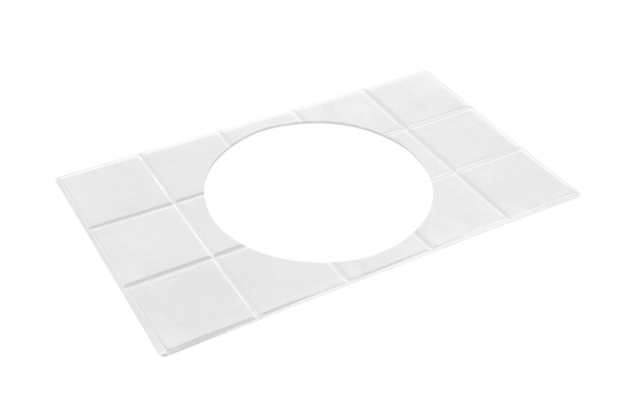 "Bon Chef 52013P EZ Fit Custom Cut Tile for 6050, Pewter Glo 12 3/4"" x 20 13/16"""
