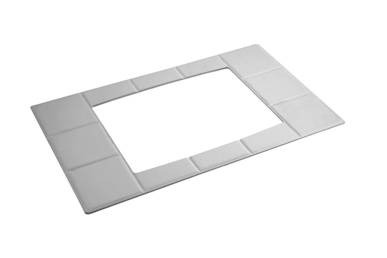 "Bon Chef 52023P EZ Fit Custom Cut Tile for 5067, Pewter Glo 12 3/4"" x 20 13/16"""
