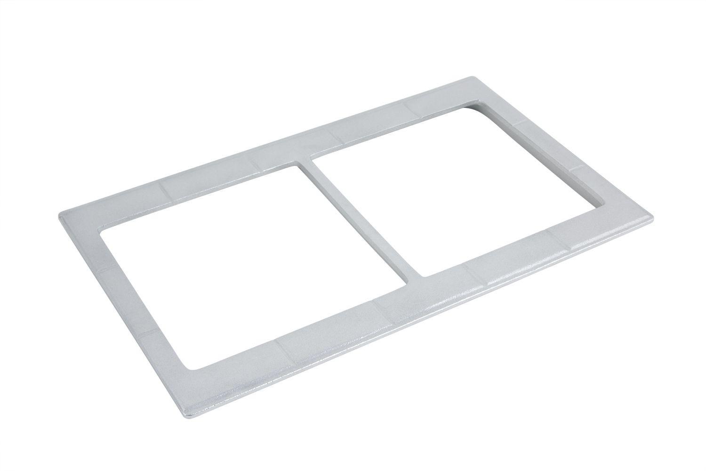 """Bon Chef 52026S EZ Fit Custom Cut Tile for (2) 9501, Sandstone 12 3/4"""" x 20 13/16"""""""