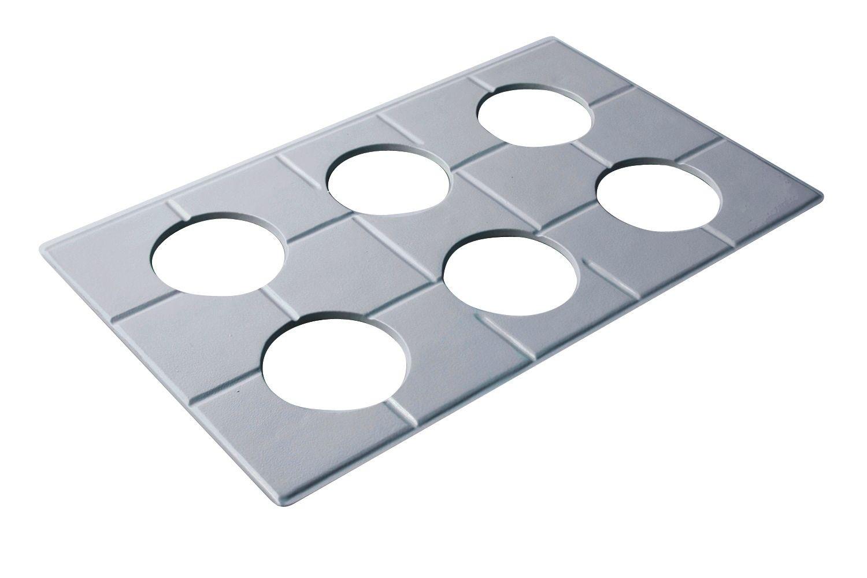 """Bon Chef 52029S EZ Fit Custom Cut Tile for (6) 9140, Sandstone 12 3/4"""" x 20 13/16"""""""