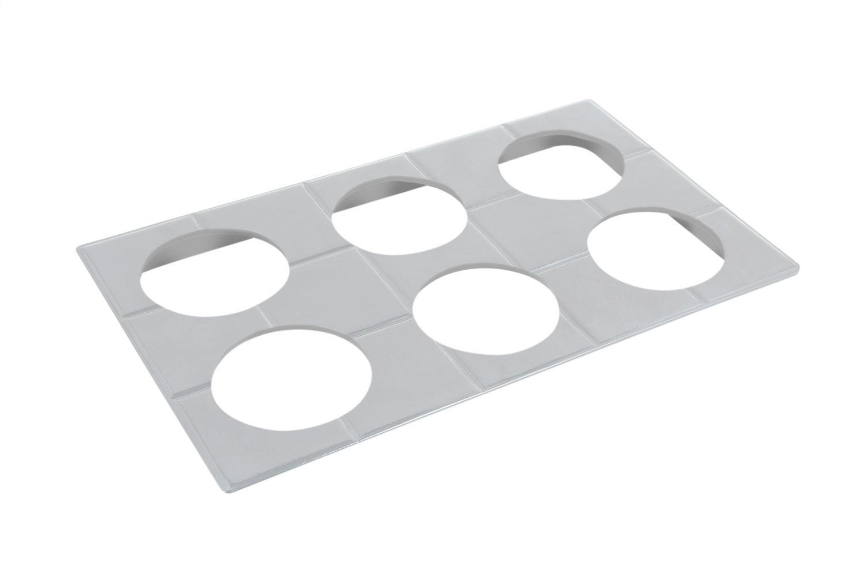 """Bon Chef 52030S EZ Fit Custom Cut Tile for (6) 9202, Sandstone 12 3/4"""" x 20 13/16"""""""