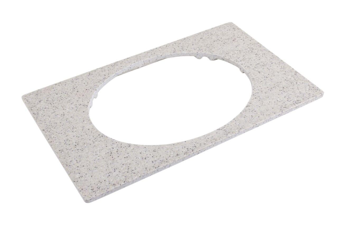 """Bon Chef 52057 EZ Fit Bonstone Single Size Tile for 2278, 12 3/4"""" x 20 13/16"""""""