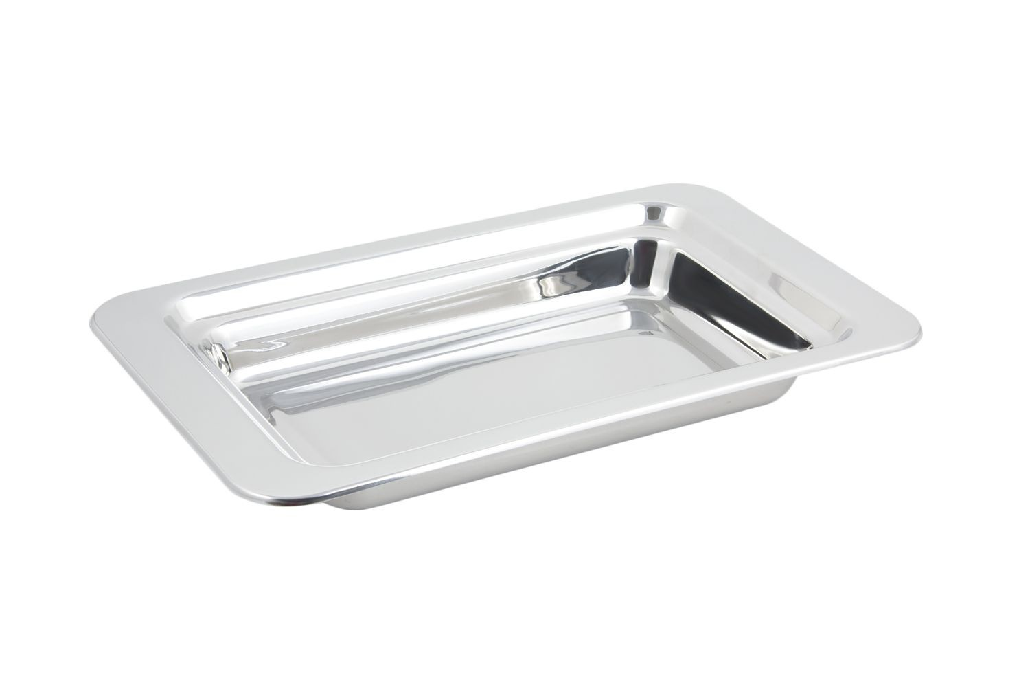 Bon Chef 5206 Plain Design Rectangular Food Pan, 4 Qt.