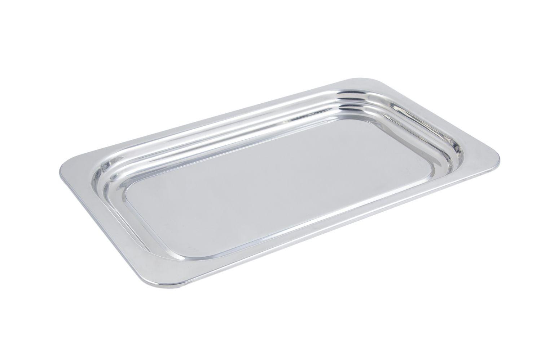 Bon Chef 5207 Plain Design Rectangular Full-Size Food Pan, 4 1/2 Qt.
