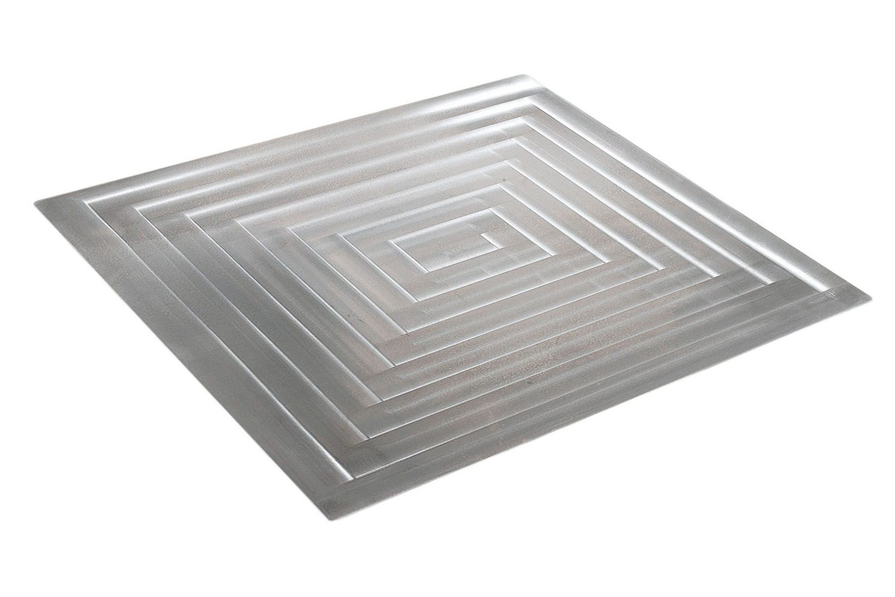 "Bon Chef 52102 EZ Fit Rectangle Stainless Steel Half Size Tile, 12 3/4"" x 10 3/8"""