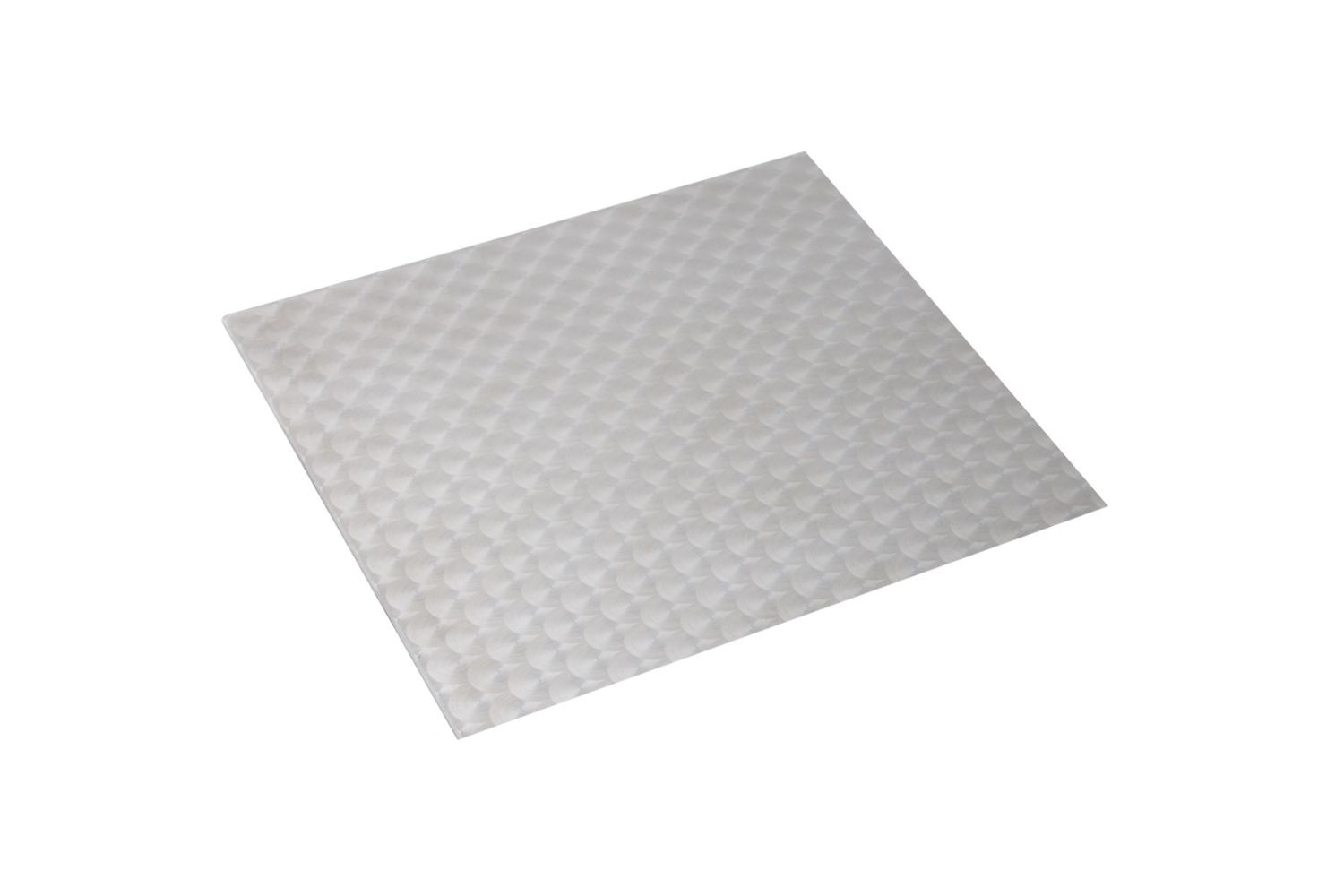 "Bon Chef 52110 EZ Fit Stainless Steel Half Size Tile with Circles, 12 3/4"" x 10 3/8"""