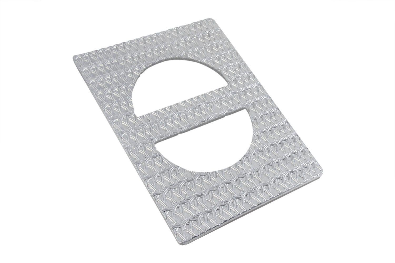 """Bon Chef 52152S EZ Fit Single Tile with Trellis Design for (2) 5102, Sandstone 12 3/4""""x x 20 3/16"""""""