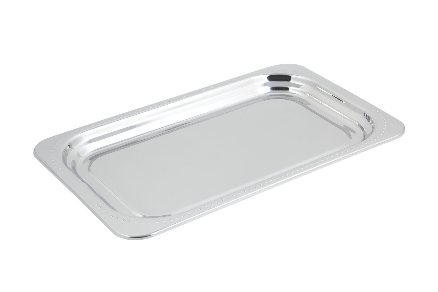 Bon Chef 5307 Bolero Design Rectangular Full-Size Food Pan, 4 1/2 Qt.